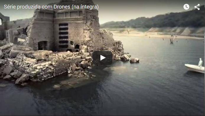 Drones produzem Série cinematográfica na Internet. Veja o Trailer Abaixo.