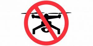 voo com drones durante os jogos olímpicos 2016 estão proibidos.