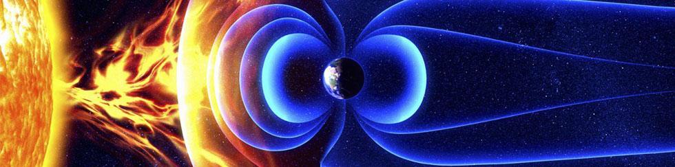 Campo eletromagnético da terra e sua relação com drones.