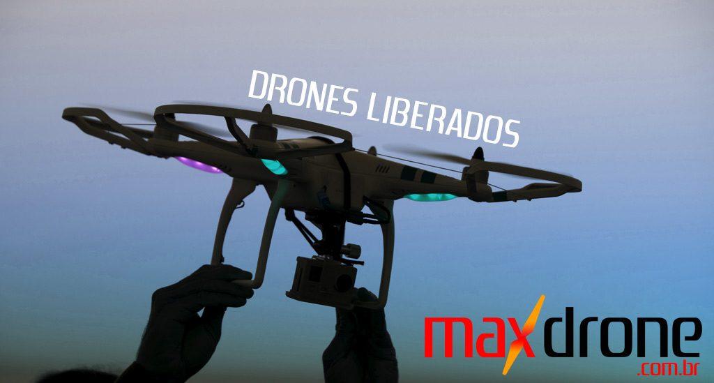 ANAC libera uso de Drones no Brasil