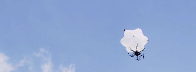 Chega de se preocupar com quedas: Paraquedas para Drones automatizados