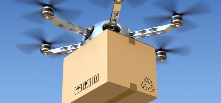 Guerra dos drones na entrega de produtos