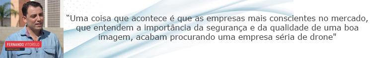 Matéria sobre Drones na Globo