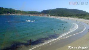 Imagem de drone de Praia do Rio de Janeiro