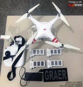 Piloto de Drone preso e equipamento apreendido