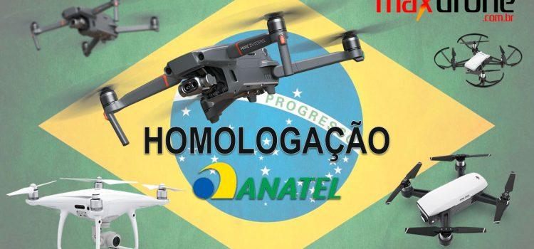 Homologação de Drones