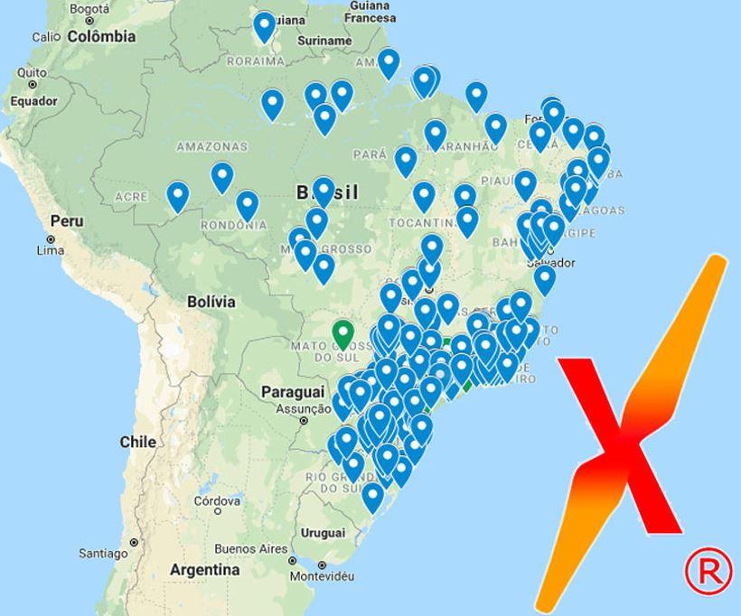 Profissionais em Todo o Brasil