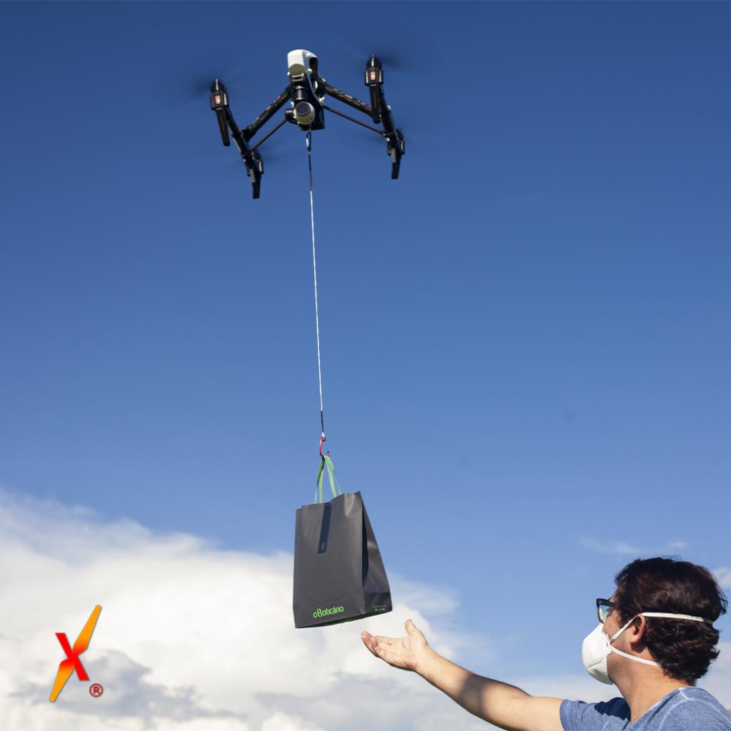 Entrega com Drone Boticário