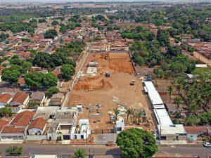 Início da obra Araçatuba - SP