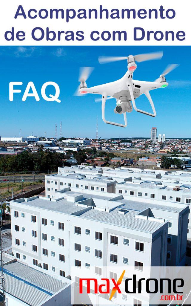 FAQ - Acompanhamento de Obras com Drone