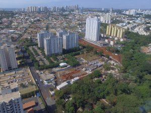 Acompanhamento de obras com drone em Ribeirão Preto - SP
