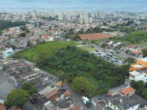 Localização de terreno em Santo André - SP