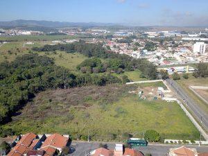Marcação de terreno em Taubaté - SP