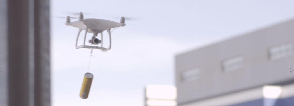 Ação de Marketing com drone para Devassa