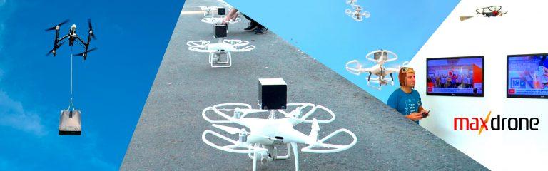 Ação de Marketing com drone