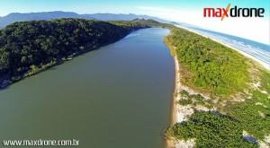 Filmagem aérea em Bertioga