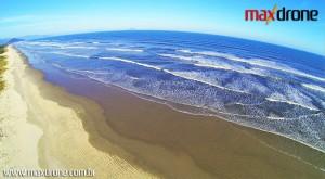 Filmagem Aérea na praia de Bertioga