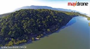 Foto aérea em Bertioga SP
