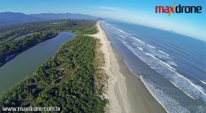 Foto Aérea em São Vicente praia